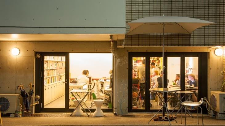 Open Source Cafe coworking space near Shimokitazawa Station