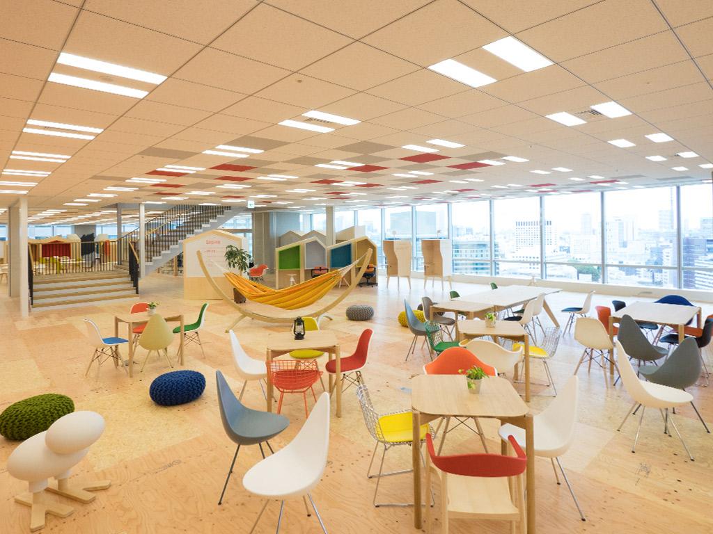 yahoo lodge tokyo coworking space
